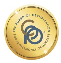 Board of certification for professional organizers