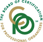 The Board of Certification for Professional Organizer