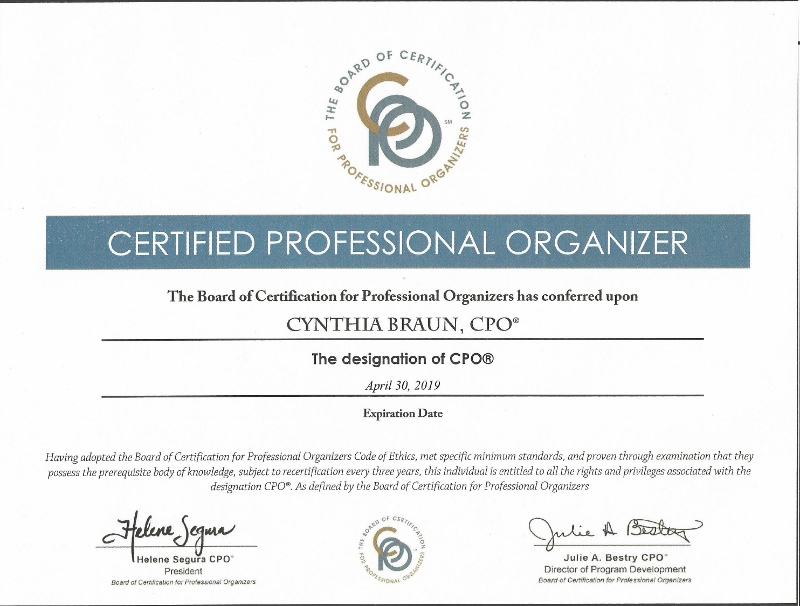 Napo Certification